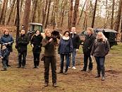 zur Eröffnung des Naturparcours 'FALCONRIDER'